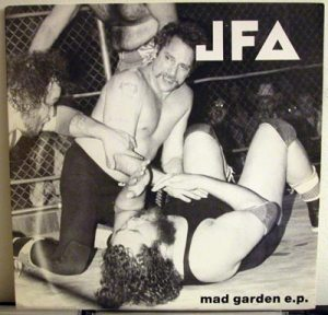 JFA Mad Garden LP cover