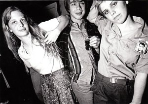 Vasquez and friends hanging out in Seattle, circa 1978, photo by Bob Kondrak